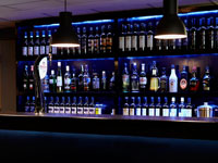 Napoli Restaurant Glossop - Our Well Stocked Bar